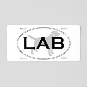 LAB II Aluminum License Plate