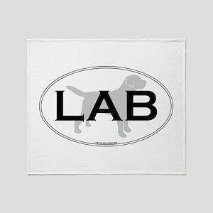 LAB II Throw Blanket