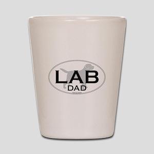 LAB DAD II Shot Glass