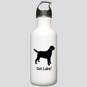 Got Labs? Silhouette Stainless Water Bottle 1.0L