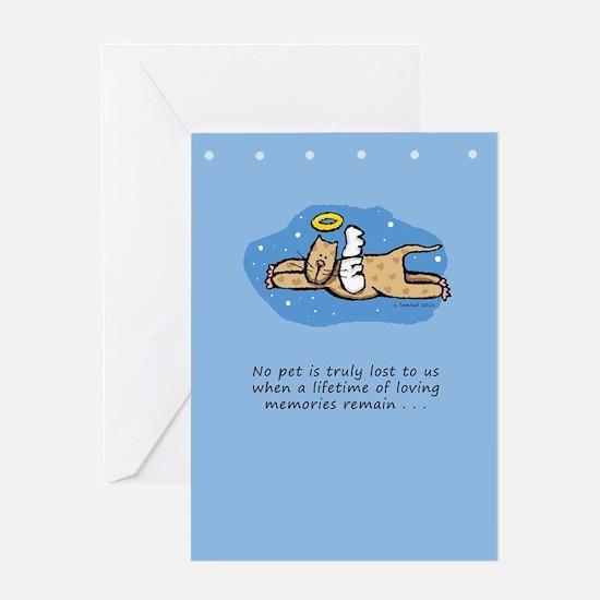 Pet Loss Cat Greeting Card