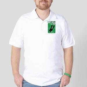 Soccer I Save Golf Shirt