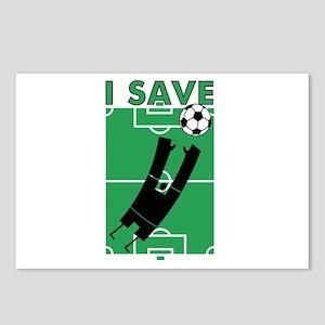 Soccer I Save Postcards (Package of 8)