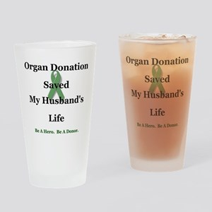 Husband Transplant Pint Glass