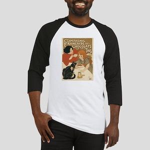 French Chocolate and Tea 1896 Baseball Jersey