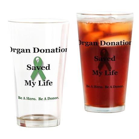 My Transplant Pint Glass