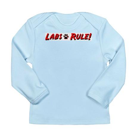 Labs Rule Long Sleeve Infant T-Shirt