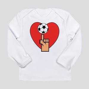 Yes I Love Soccer Long Sleeve Infant T-Shirt