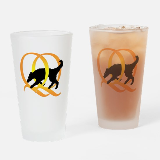 QQ Agility Dog Pint Glass