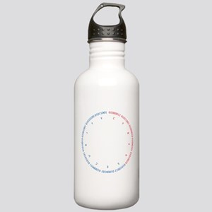 Cyber Security w/ Text Stainless Water Bottle 1.0L