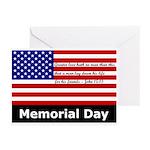 John 15:13 Memorial Day Greeting Cards (Pack of 6)
