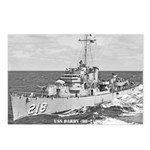 USS DARBY Postcards (Package of 8)
