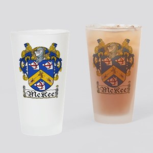 McKee Coat of Arms Pint Glass