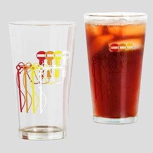 Mic stand gradient Pint Glass