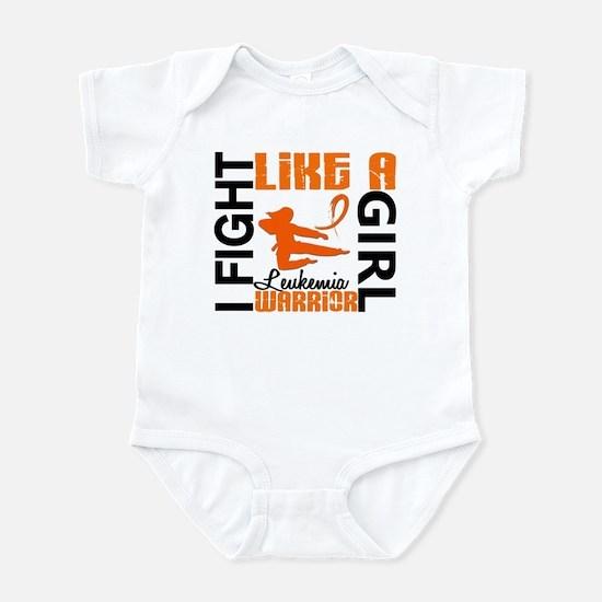 Licensed Fight Like a Girl 3.2 Leu Infant Bodysuit