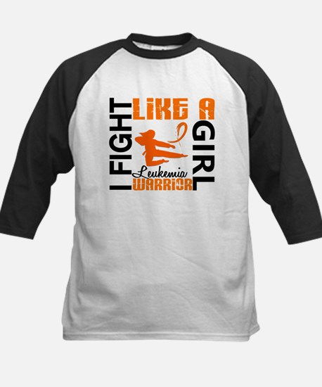 Licensed Fight Like a Girl 3. Kids Baseball Jersey