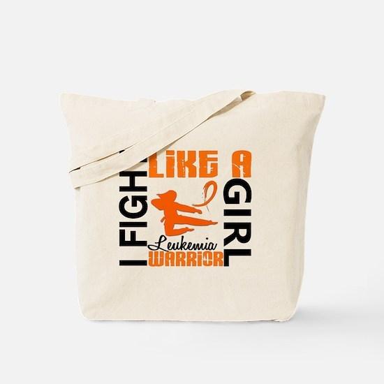 Licensed Fight Like a Girl 3.2 Leukemia Tote Bag