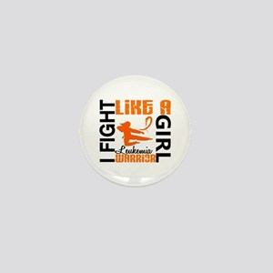 Licensed Fight Like a Girl 3.2 Leukemi Mini Button