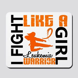Licensed Fight Like a Girl 3.2 Leukemia Mousepad
