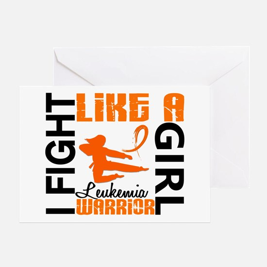 Licensed Fight Like a Girl 3.2 Leuke Greeting Card