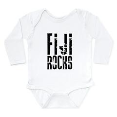 Fiji Rocks Long Sleeve Infant Bodysuit