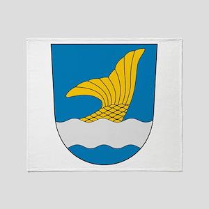 Vantaa Coat Of Arms Throw Blanket