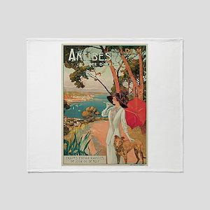 Dellepiane Antibes France Throw Blanket