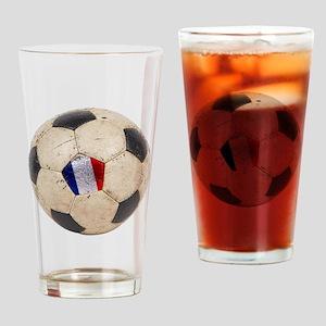 France Football Pint Glass