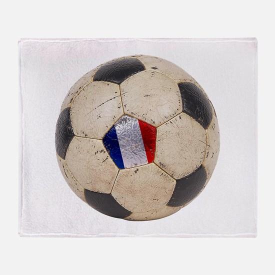 France Football Throw Blanket