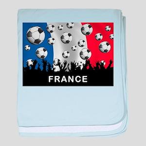 France Football baby blanket