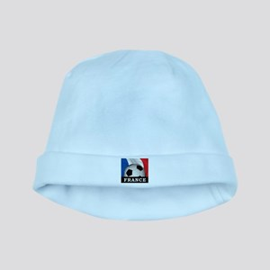 Football France baby hat