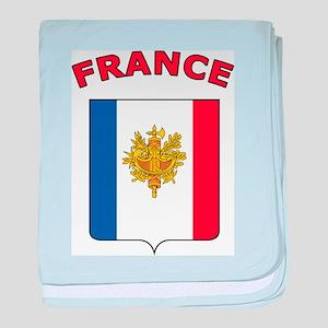 France baby blanket