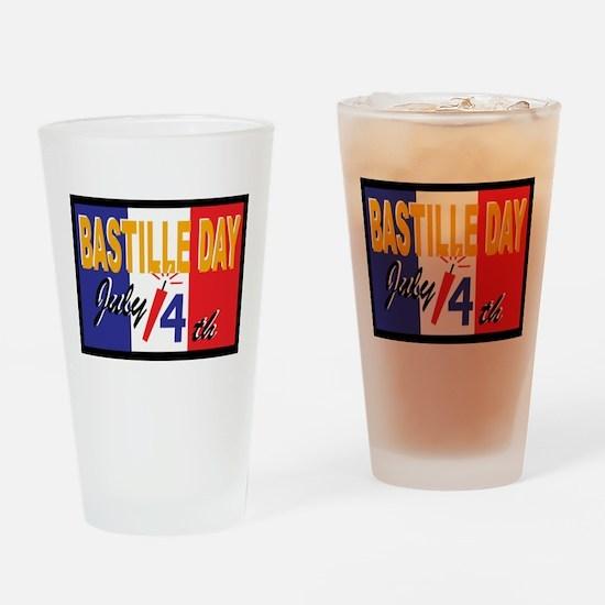 Bastille Day Pint Glass
