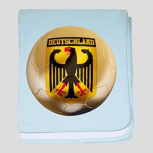 Deutschland Football baby blanket
