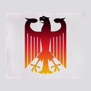 Germany Eagle Throw Blanket