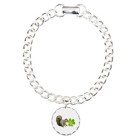 Shamrock Squirrel Bracelet
