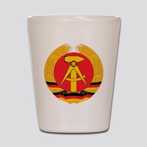 East Germany Shot Glass