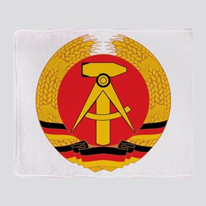East Germany Throw Blanket
