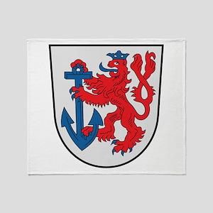 Dusseldorf Coat Of Arms Throw Blanket