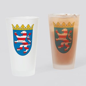 Hesse Coat Of Arms Pint Glass