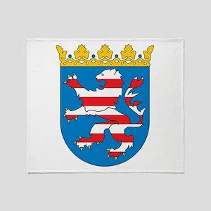 Hesse Coat Of Arms Throw Blanket