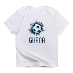 Ghana Football Infant T-Shirt