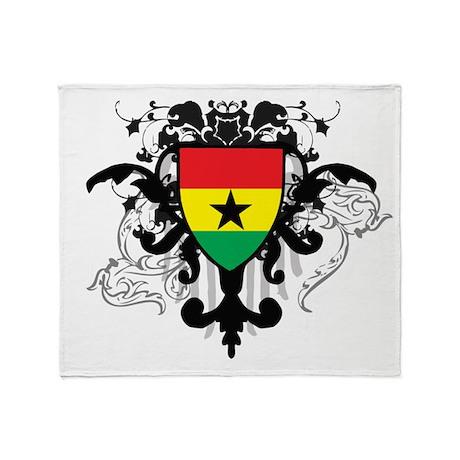 Stylish Ghana Throw Blanket