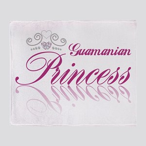 Guamanian Princess Throw Blanket