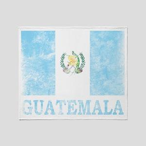 Vintage Guatemala Throw Blanket
