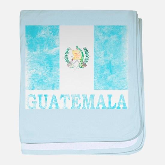 Vintage Guatemala baby blanket