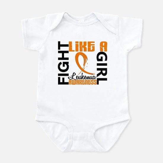 Licensed Fight Like a Girl 3.3 Leu Infant Bodysuit