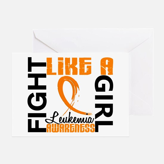 Licensed Fight Like a Girl 3.3 Leuke Greeting Card
