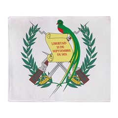 Guatemala Coat Of Arms Throw Blanket