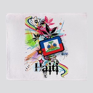 Haiti Throw Blanket